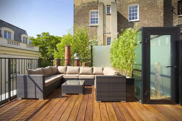 The Times Why A Roof Terrace Adds Value