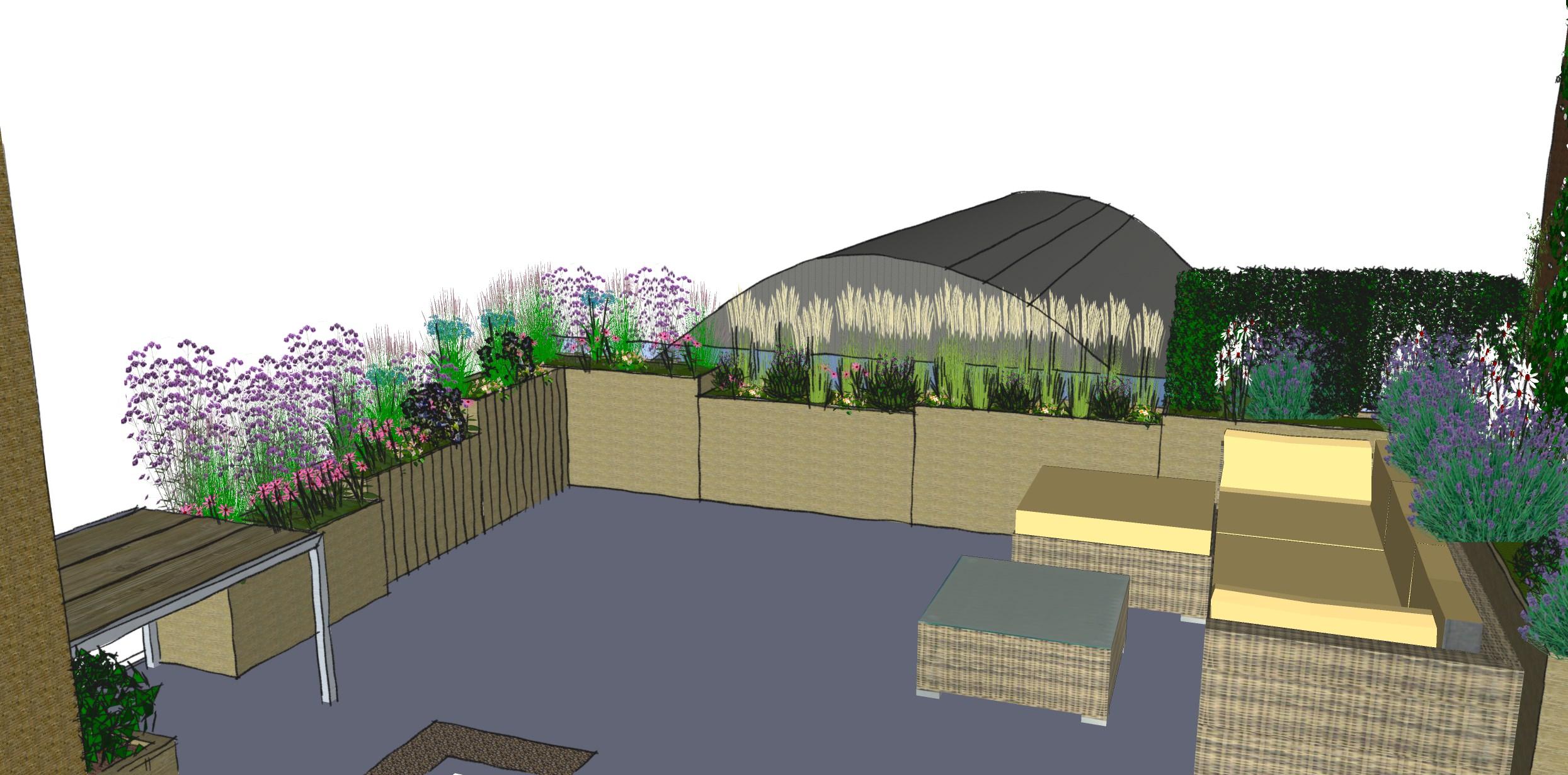 Low Maintenance Garden Designs - Garden Club London