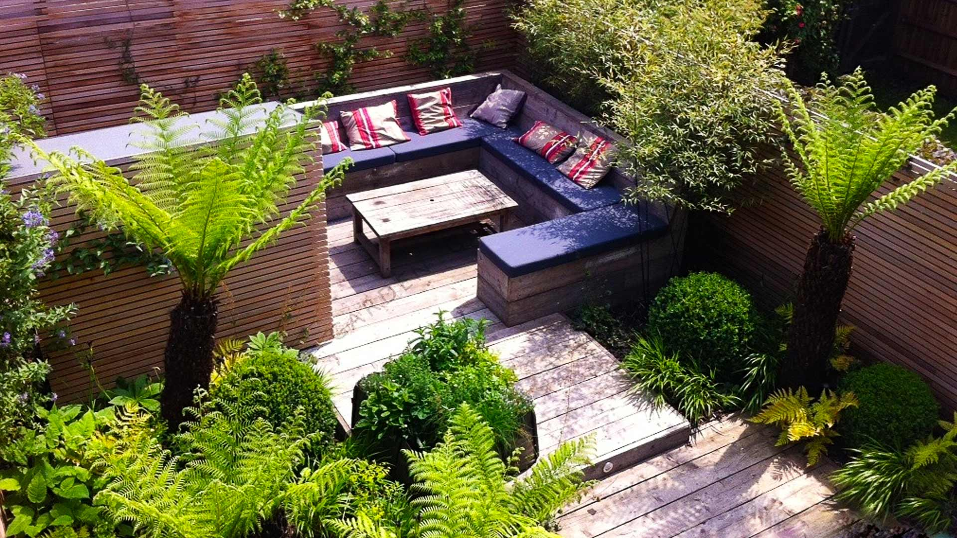 Small Garden Design SW London - Garden Club London