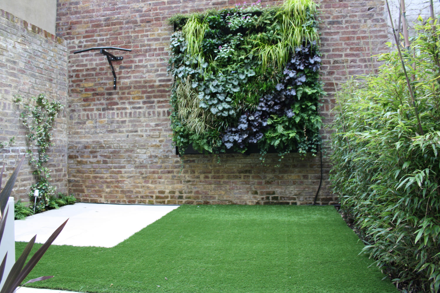 Camden small shady for Landscape design london