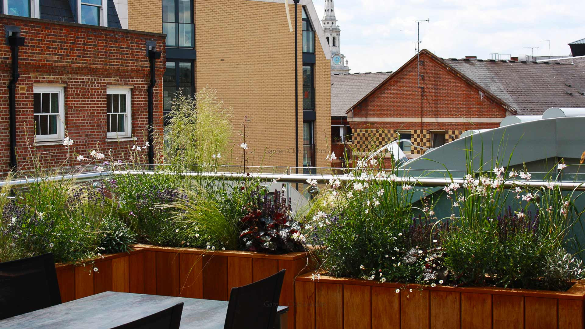 urban garden roof design garden club london