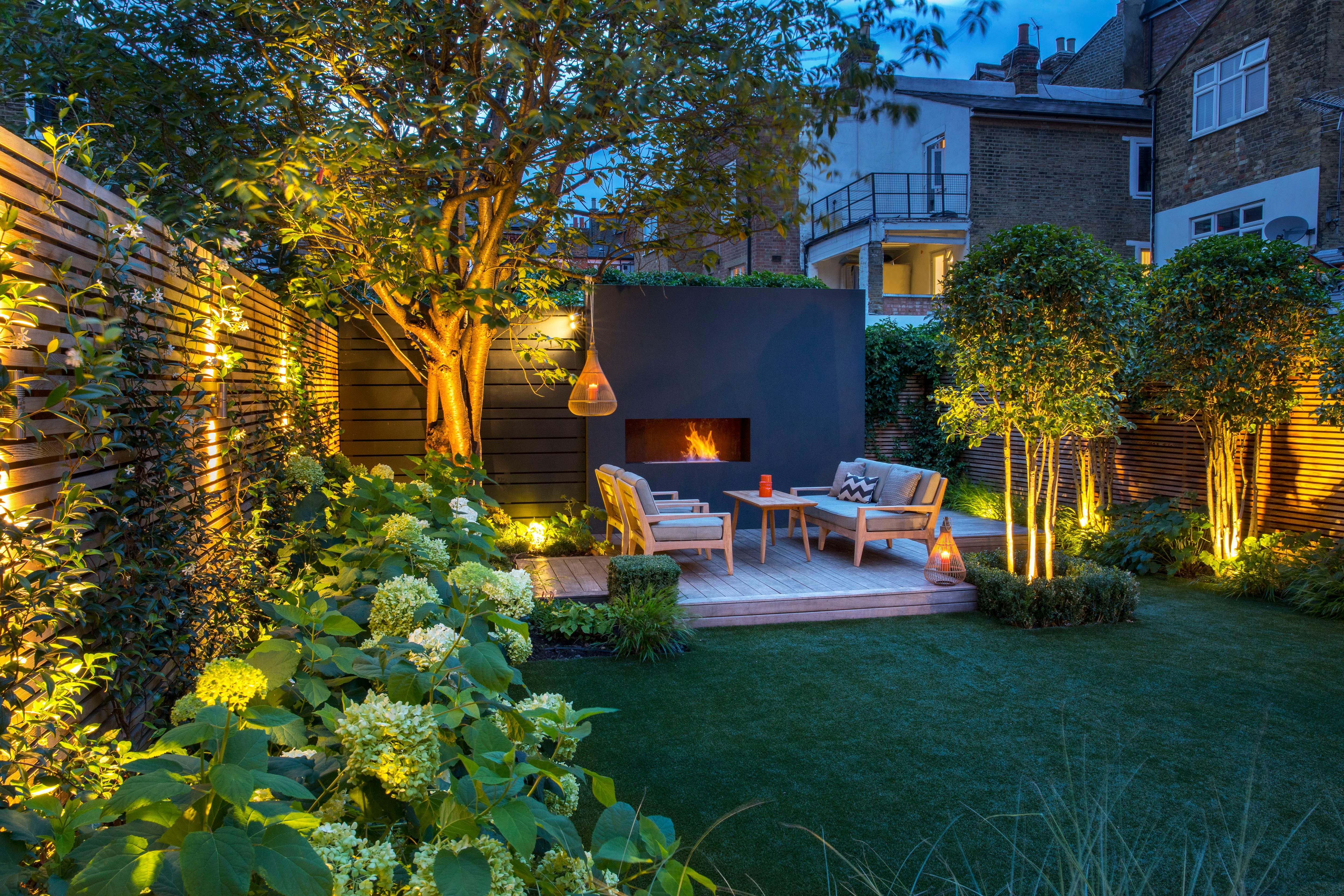 Back garden design London - Garden Club London
