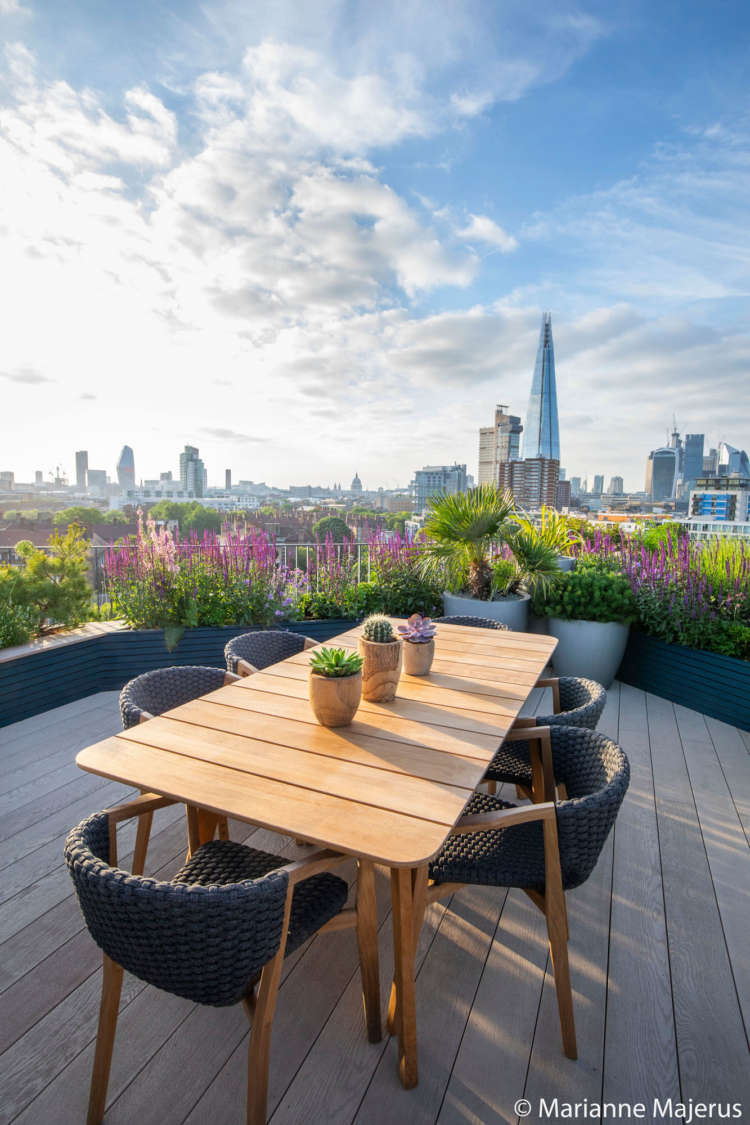 Roof Garden Designs London - Garden Club London