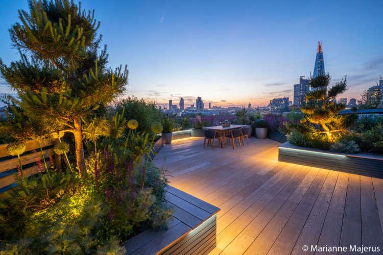 Garden Design London Small Roof Design Urban Garden Design