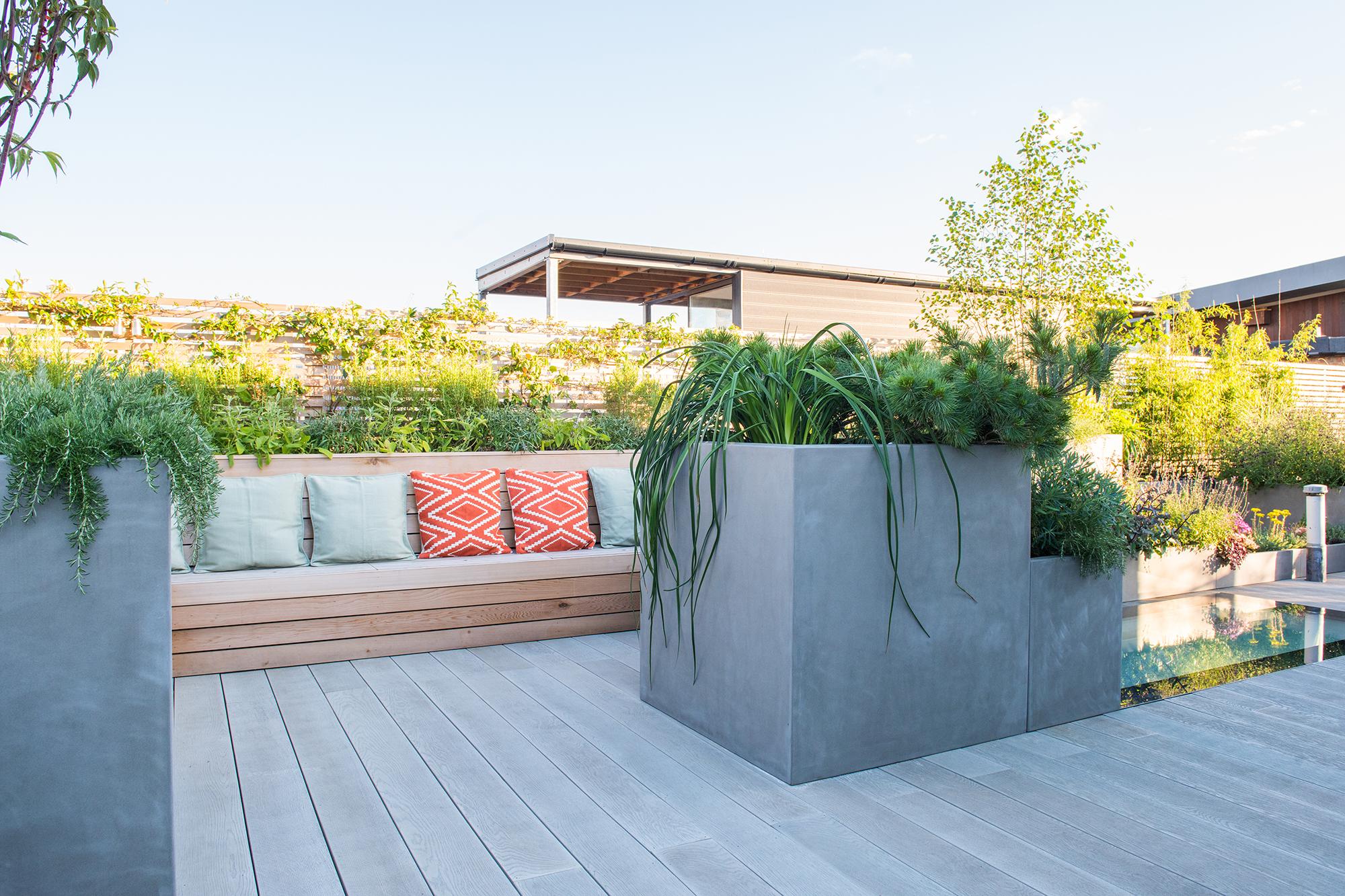 Roof-terrace-design-Shoreditch - Garden Club London