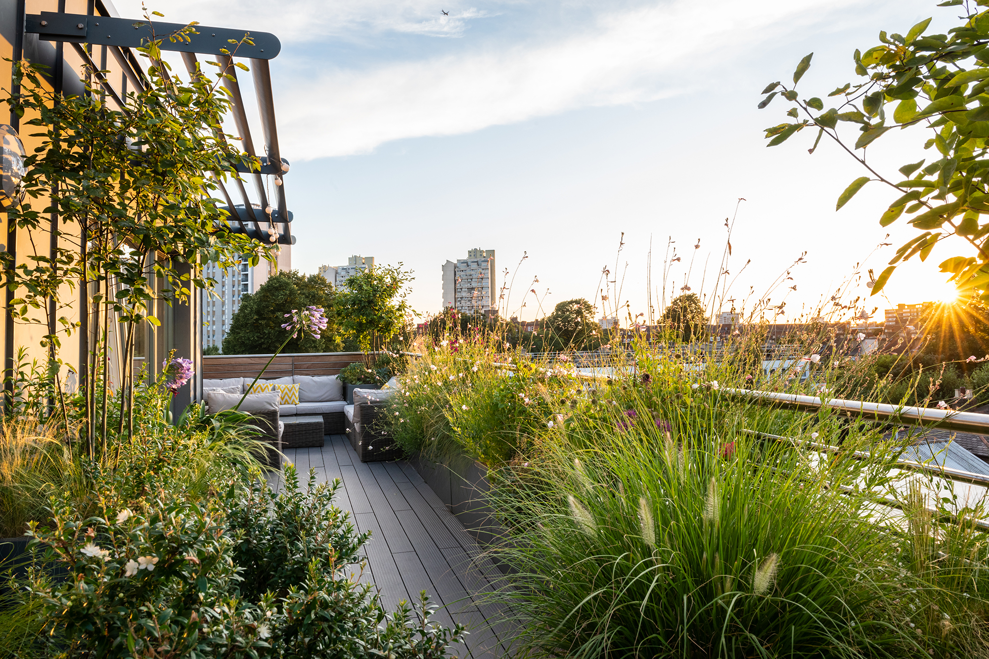 roof-garden-design-brooklyn - Garden Club London