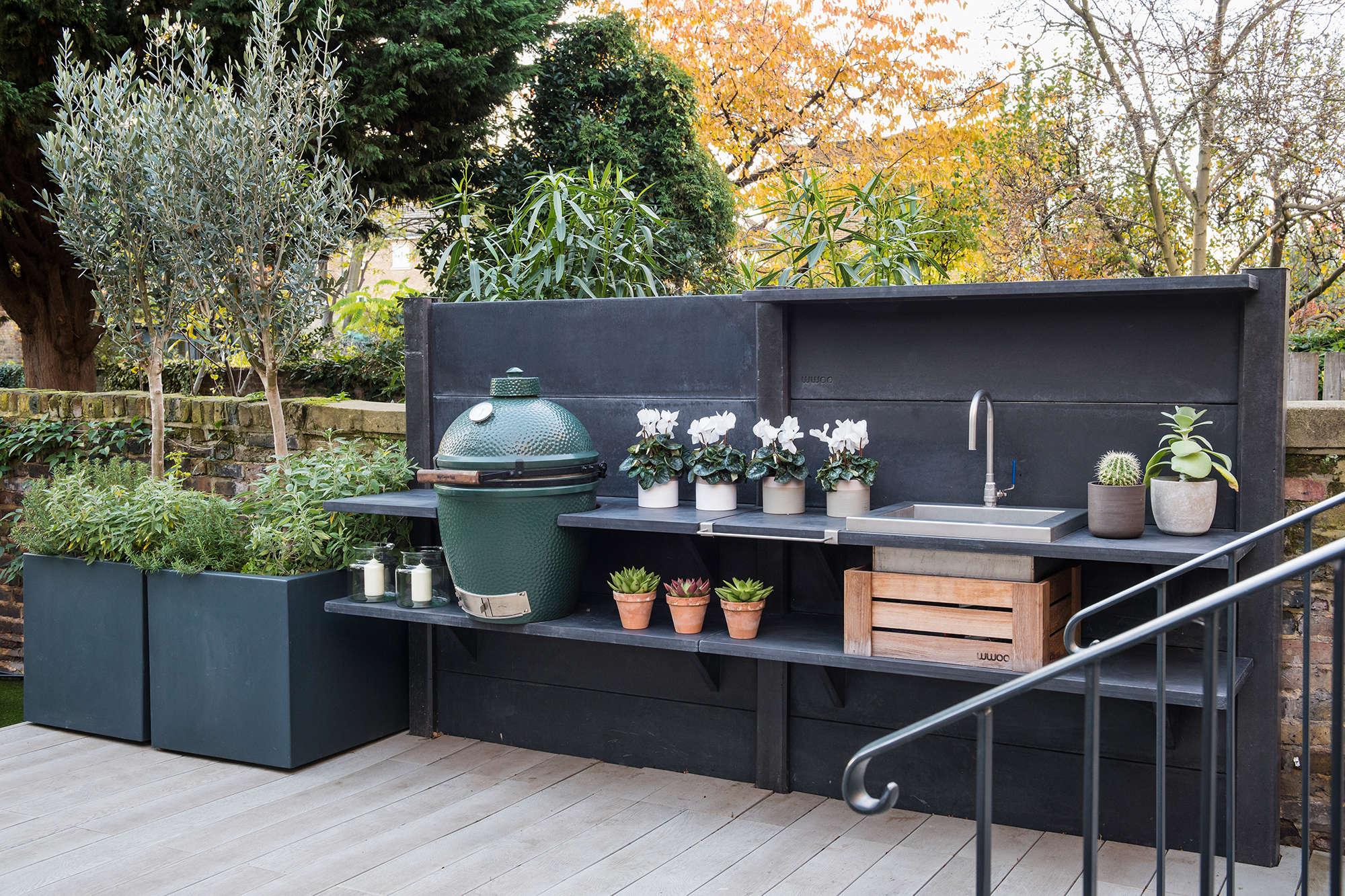 Outdoor-kitchen-design-London - Garden Club London